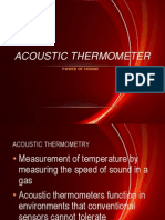 Acoustic Termometer