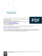 THE RESOURCE-BASED VIEW OF THE FIRM IN TWO ENVIRONMENTS