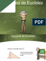 Teorema de Euclides y Ejercicios