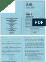 2010 AMC 8-Solutions