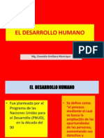 Indice Del Desarrollo Humano