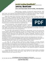 Ccb Principals Directors and Associatres Brief Profile