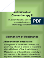 Lecture 11 - Antimicrobial Chemotherapy