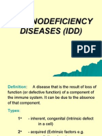 Lecture 25 - Immunodeficiency