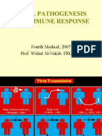 Micro - 4th Asessment - Viral Pa Tho Genesis and the Immune Response - 27 Jan 2007