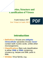 Micro - 4th Asessment - Properties and Classification of Viruses - 27 Jan 2007