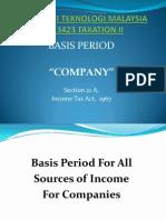 Basis Period