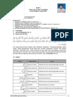 Bab 1 Ayat-Ayat Al-Quran Tentang Etos Kerja