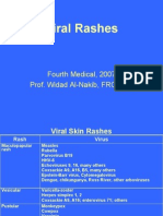 Micro - 4th Asessment - Viral Rashes - 30 Jan 2006