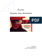 Persona-bergman,Jung e Kierkegaard