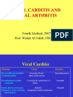 Micro - 4th Asessment - Viral Carditis and Arthritis - 2007