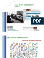 Aplicacion Redes Sociales Educacion
