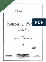 Guitarreria de Buenos Aires - Adolfo V. Luna - Pampa y Andes
