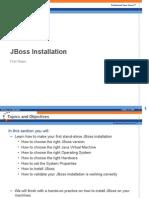 BasicJBossInstallation