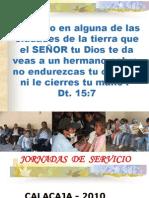 1ºJORNADAS DE SERVICIO