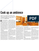 Housing Cook Up an Ambience
