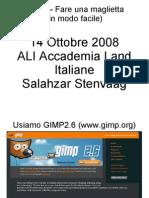 Gimp Maglietta Learning Dream