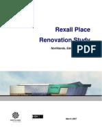 Rexall Renovation Study