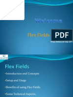 Flex Fields Training