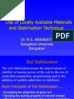 Soil Stab-Use of-New.ppt DR MSA Edusat.ppt Rev 1