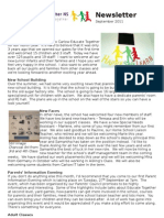 September Newsletter 2011