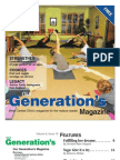 Our Generation's Magazine, October