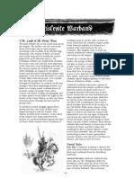 Mordheim - Warbands - Kislevite