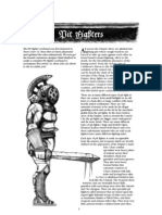 Mordheim - Warbands - Pit Fighters