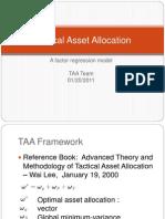 TAA-FactorModel