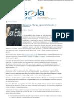 Marco Respinti, «Educazione, l'Europa espropria la famiglia in tribunale», in «La Bussola Quotidiana», Milano 30-09-2011