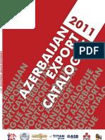 Azerbaijan Export Catalogue 2011