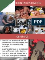 Drogadiccion en Los Jovenes 1104 Diapositivas