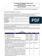Tabela de Honorarios_2011 Cfa Administrador