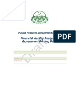 Financial Viability Analysis of GPP (by Usman Khan)