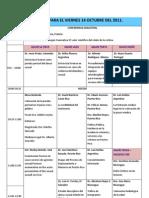 Programa Para El Viernes 14 Octubre Del 2011