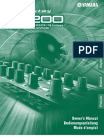 Yamaha Dx200 Eng User's Manual
