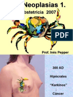 neoplasias obstericia  2007