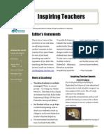 Newsletter - Oct 2011