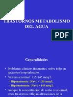 Clase Metabolismo Del Agua 2007