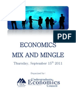 Economics Mix and Mingle Booklet