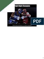 Fight Night Champion GDC Presentation