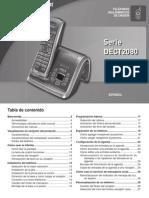Uniden modelo DECT2080 - manual en español