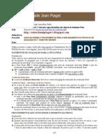 GUIÃO da AVALIAÇÃO - 2006-2007