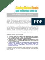 Best Tax Saving Mutual Funds-VRK100-08Oct2012