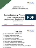 c5 Comunicacionpresentaciones a Com en La Org