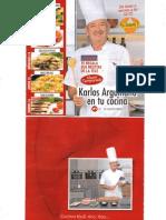 Karlos Arguiñano Nº1 12-16 septiembre (Blog La Cocina Fácil De Donaida)