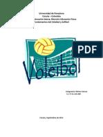 Trabajo De Voleibol (voleo de pelotas altas y bajas)