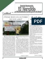Revista Nomianista el Heraldo de los mandamientos de Dios y la Fe de Jesus