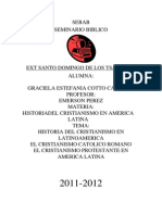 Historia de Cristianismo en Latnoamerica