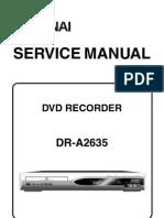 DR-A2635 (E68C1ED) Service Manual